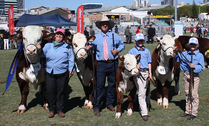 family shot ekka 2013