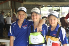 Girls at the Inverell Heifer Show