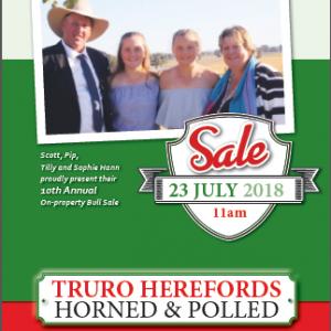 2018 Truro Bull Sale